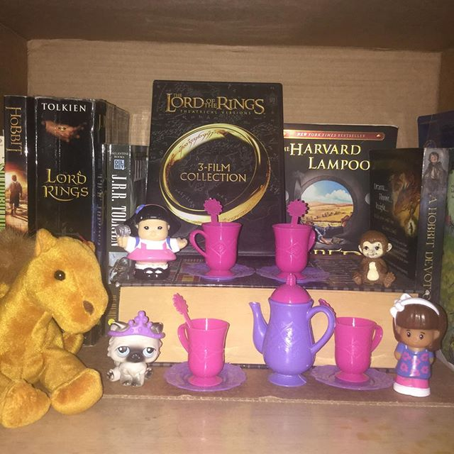 On Today S Episode Of Teaandtolkienthursdays The Toys Start A New